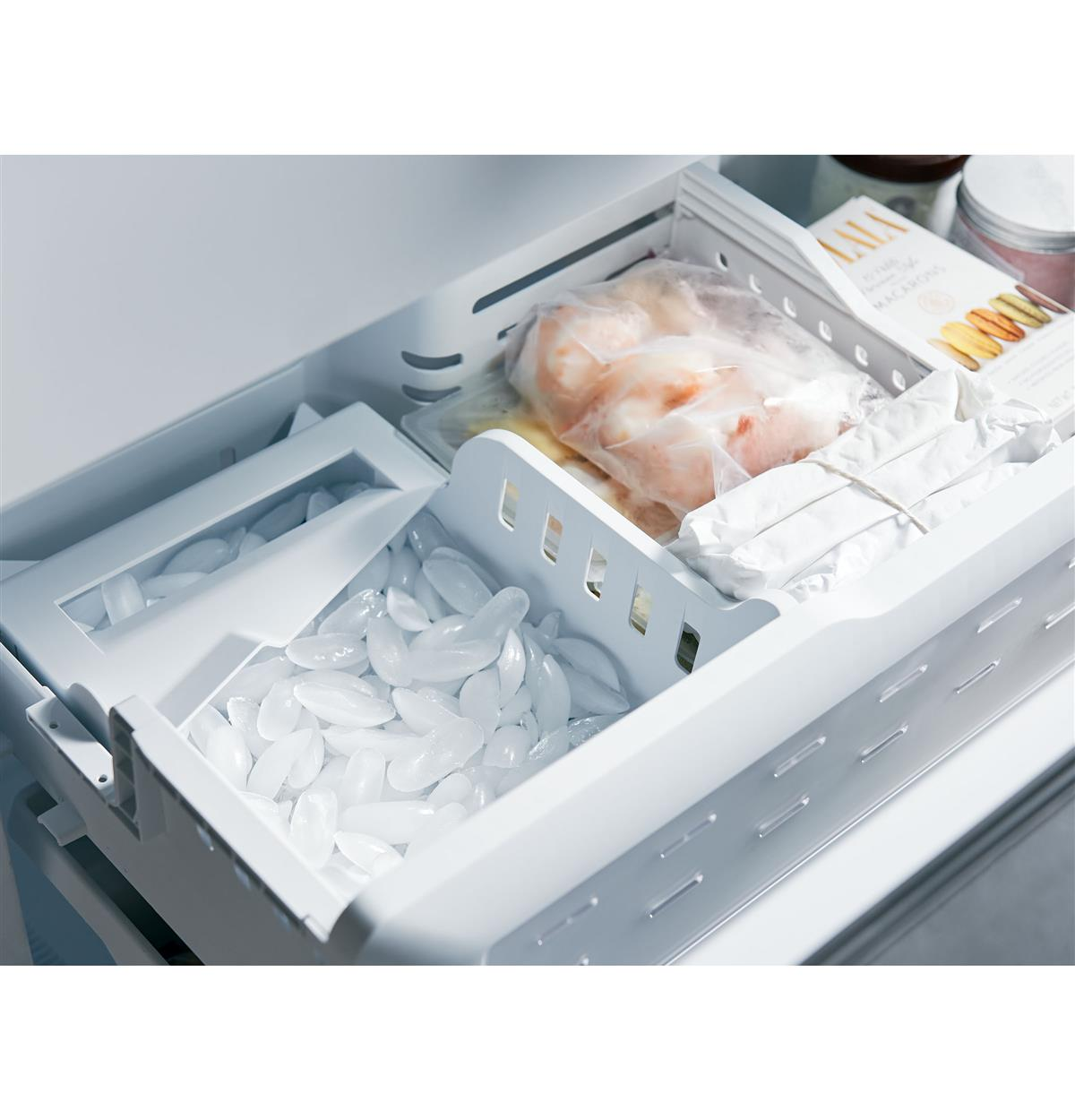 Factory-installed icemaker