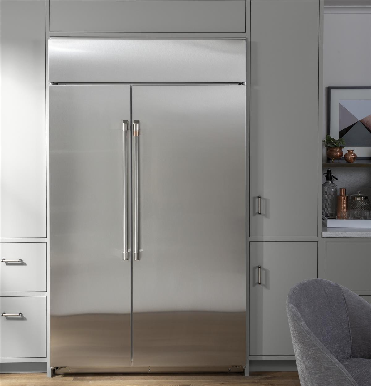 A refrigerator that speaks to your style