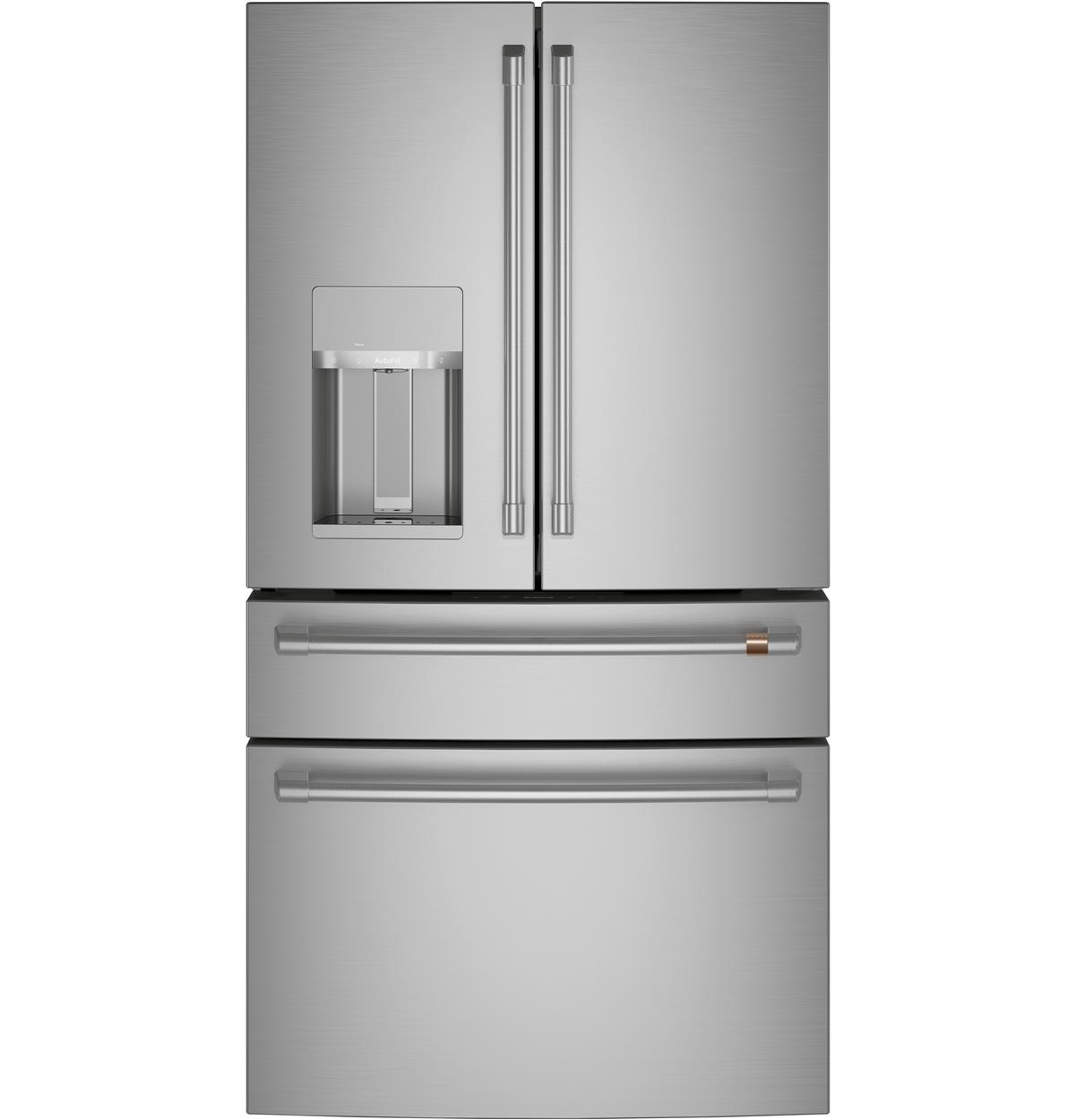 Café™ ENERGY STAR® 27.8 Cu. Ft. Smart 4-Door French-Door Refrigerator