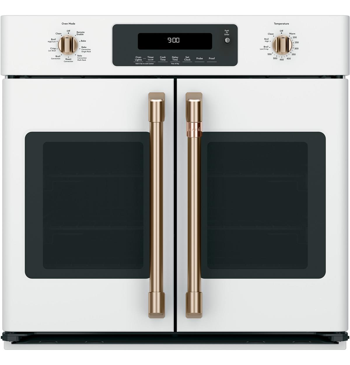 "Café™ 30"" Smart French-Door Single Wall Oven with Convection"