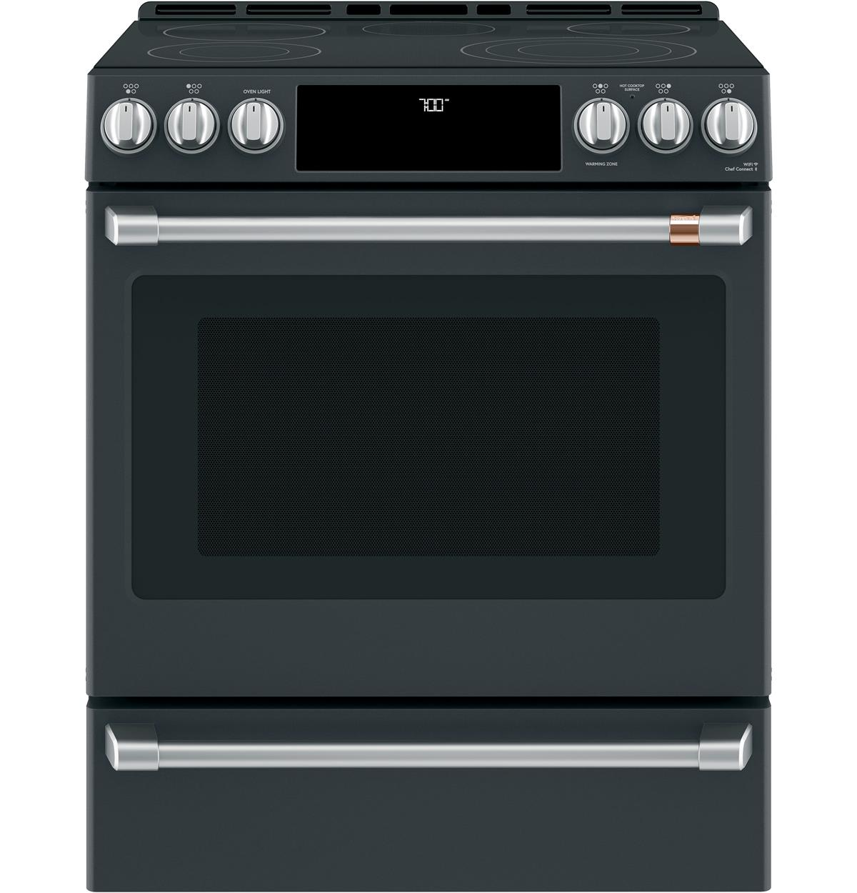 "Café™ 30"" Smart Slide-In, Front-Control, Radiant and Convection Range"