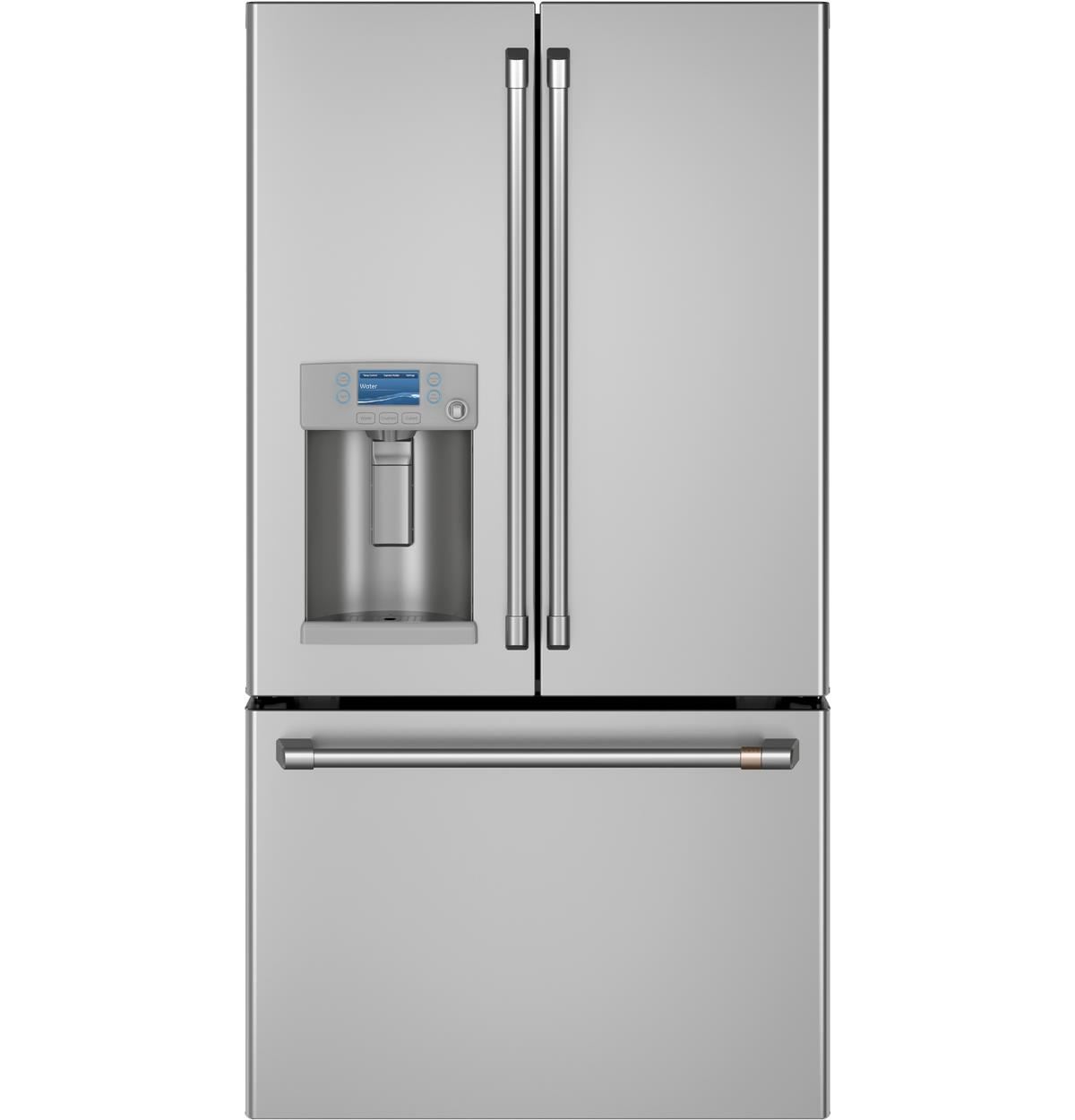 Café™ ENERGY STAR® 27.7 Cu. Ft. Smart French-Door Refrigerator with Hot Water Dispenser