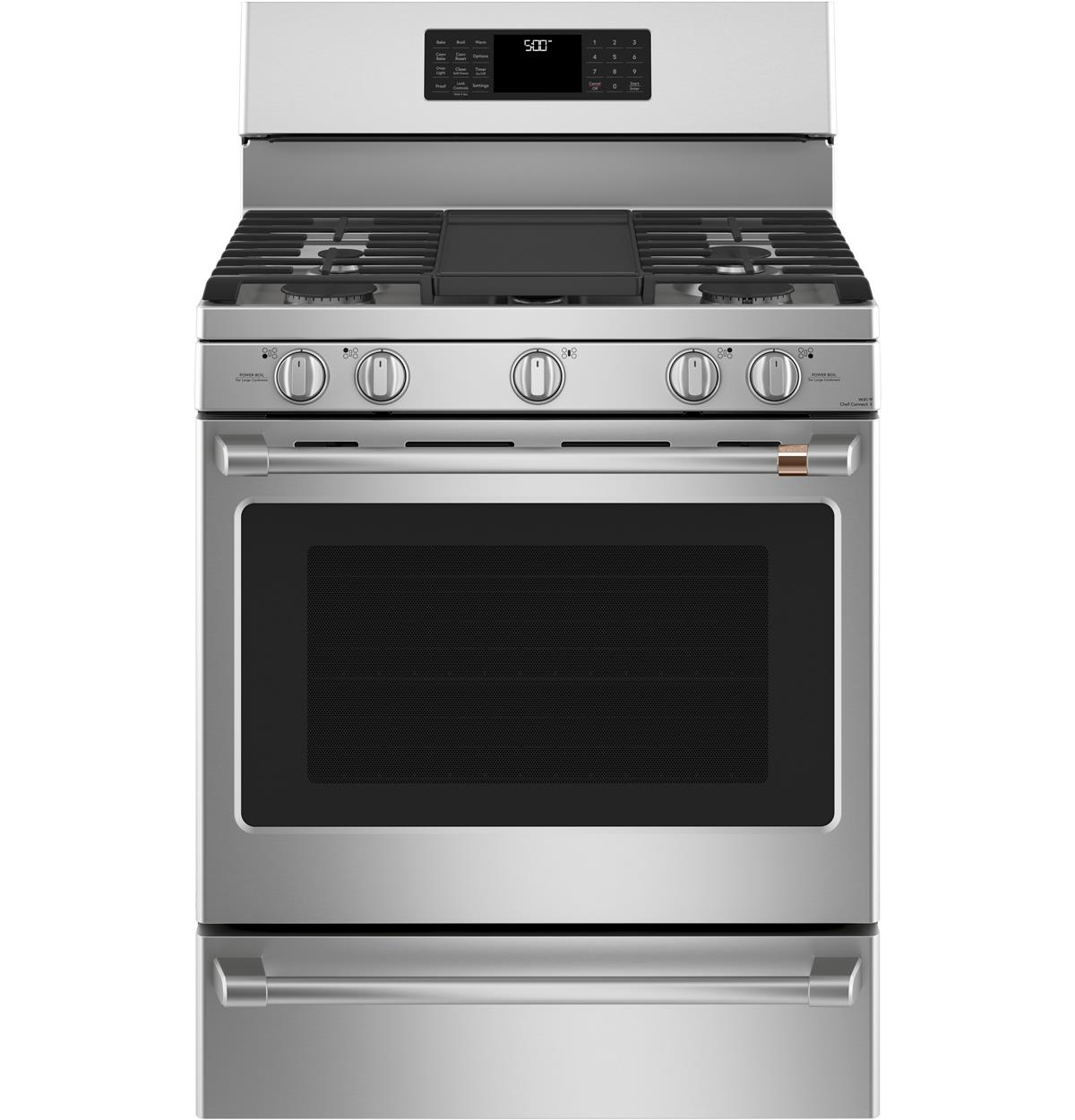 "Café™ 30"" Smart Free-Standing Gas Range with Convection"