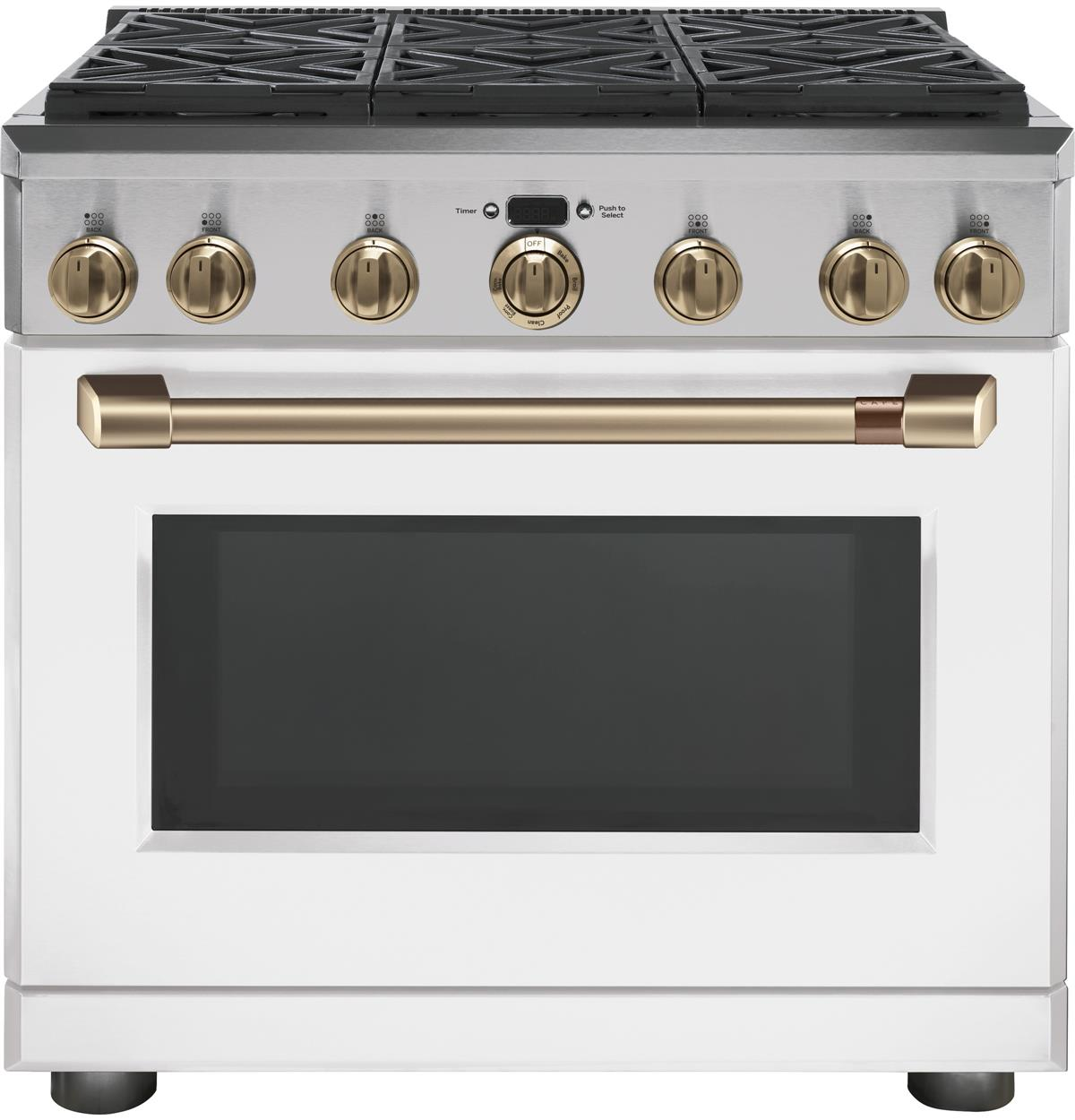 "Café™ 36"" All-Gas Professional Range with 6 Burners (Natural Gas)"