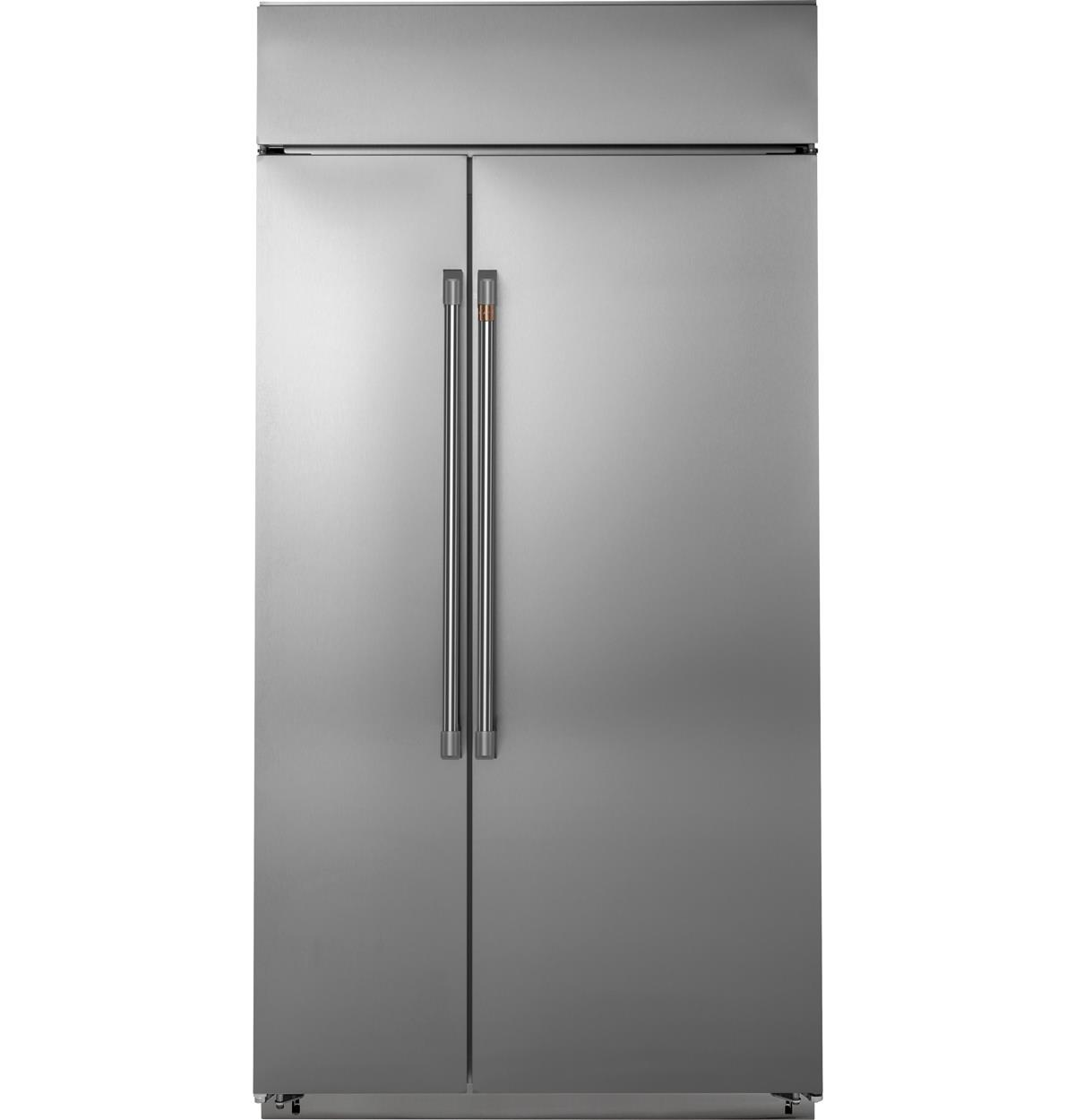 "Café™ 48"" Smart Built-In Side-by-Side Refrigerator"