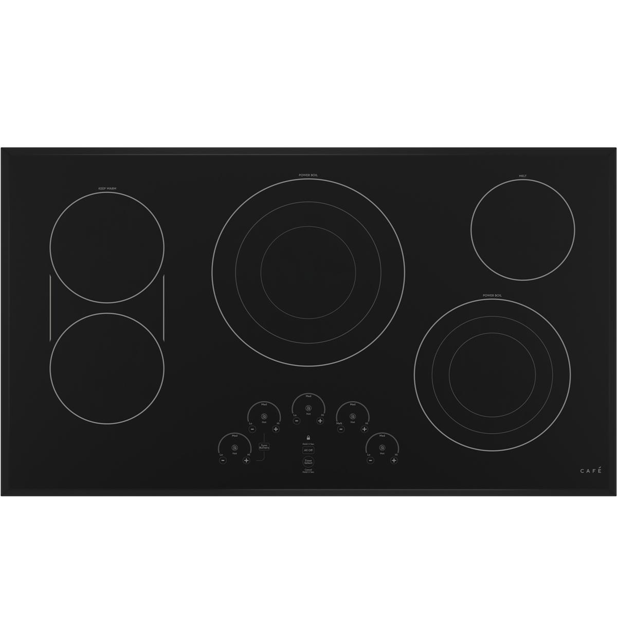 "Café™ 36"" Built-In Touch Control Electric Cooktop"