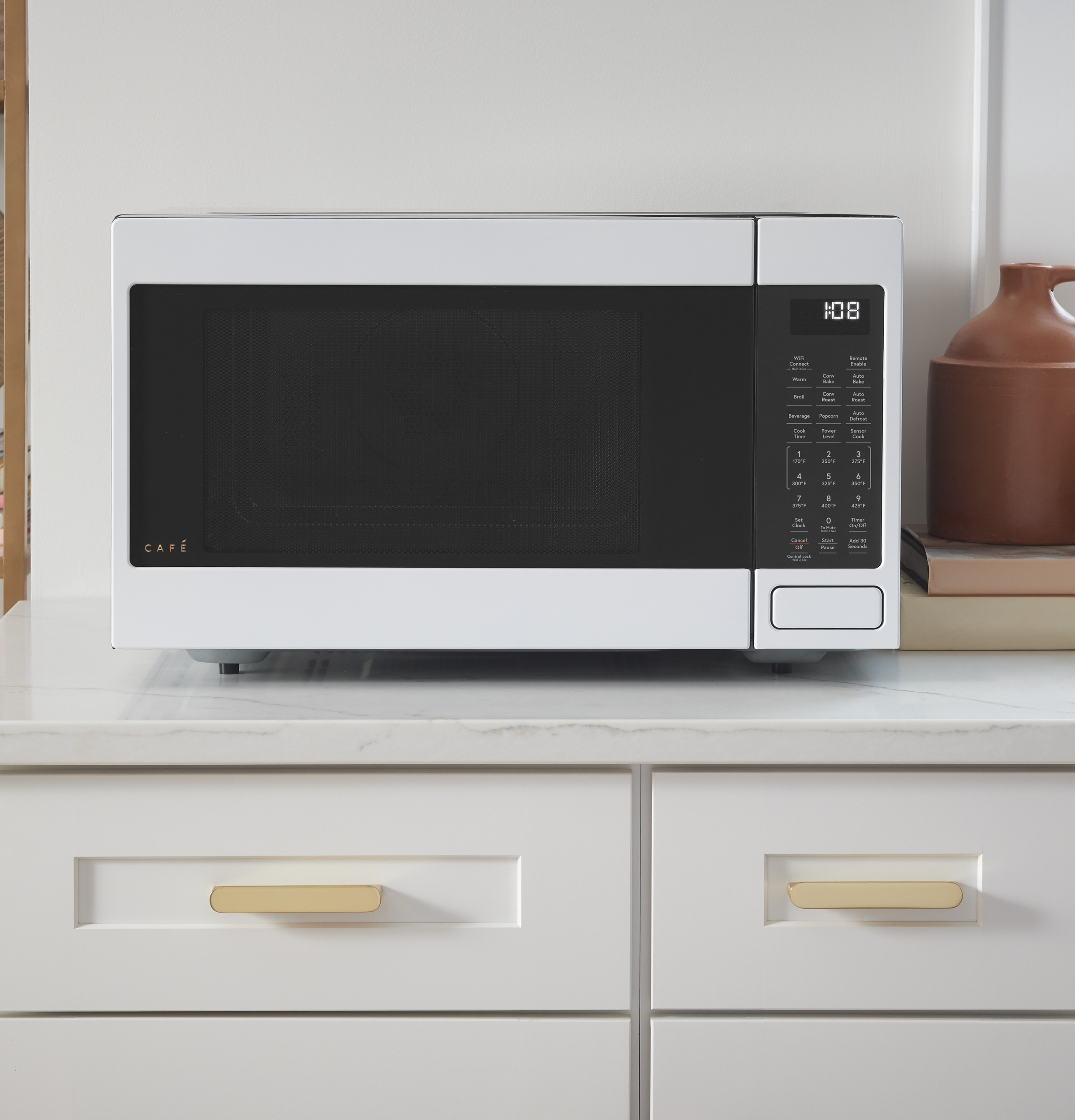 Ceb515p4nwm Overview Cafe 1 5 Cu Ft Smart Countertop