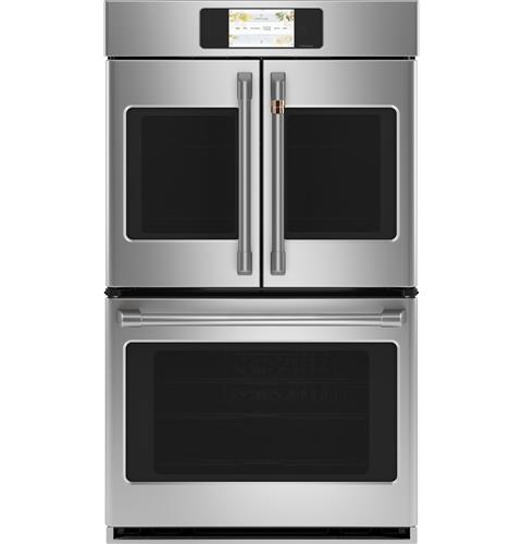 """Café™ Professional Series 30"""" Smart Built-In Convection French-Door Double Wall Oven"""