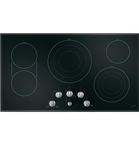 "Café™ 36"" Knob-Control Electric Cooktop"