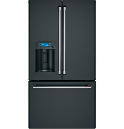 Café™ ENERGY STAR® 27.8 Cu. Ft. Smart French-Door Refrigerator with Hot Water Dispenser