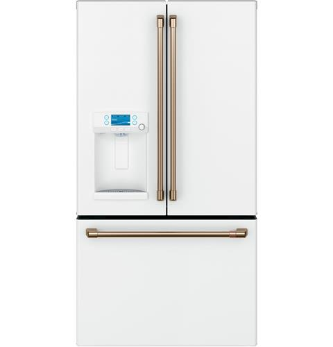 Café™ ENERGY STAR® 22.1 Cu. Ft. Smart Counter-Depth French-Door Refrigerator with Hot Water Dispenser